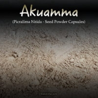 Akuamma (Picralima Nitida) Seed Powder Capsules Kratom Alternatives