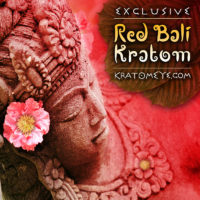Exclusive Red Vein Bali Kratom, Superior Powder