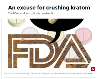 An excuse for crushing kratom The FDA's undue scrutiny is unscientific