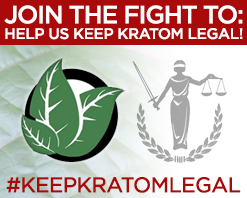 HELP US KEEP KRATOM LEGAL!