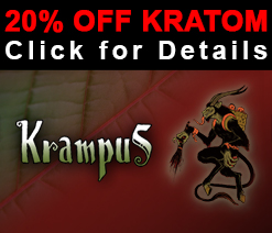 20% OFF Kratom Coupon + FREE Sample of 'Krampus'...