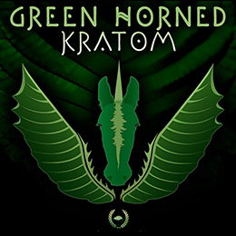 Green Horned Kratom - Maeng Da - Thai Grade!
