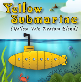 NEW: YELLOW SUBMARINE – BEST YELLOW VEIN KRATOM BLEND