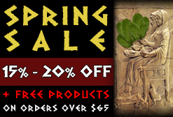 SPRING SALE: 15% TO 20% DISCOUNT ON SALE PRODUCTS