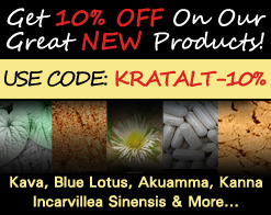 10% OFF Kratom Alternatives - Use Code: KRATALT-10%!