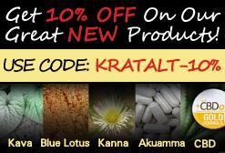 10% OFF Kratom Alternatives - Use Code: KRATALT-10%!