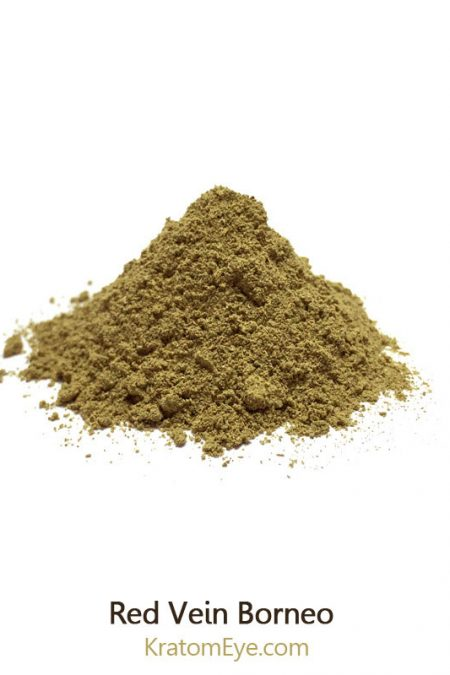 Red Vein Borneo strongly relaxing chill kratom