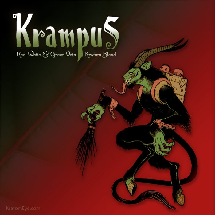 Krampus (Red, White & Green Vein Holiday Kratom Blend)