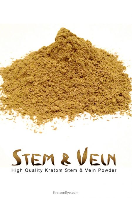 High Quality Kratom Stem & Vein Powder