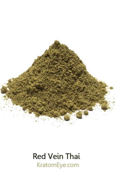 Red Vein Thai, Strong Hybrid Kratom