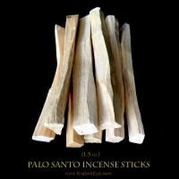 palo santo wood incense sticks 1.5oz