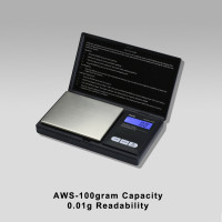 AWS-100 100 gram Botanical Scale - 0.01g Readability