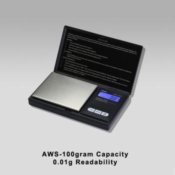 AWS-100 100 gram Botanical Scale - 0.01g Readability