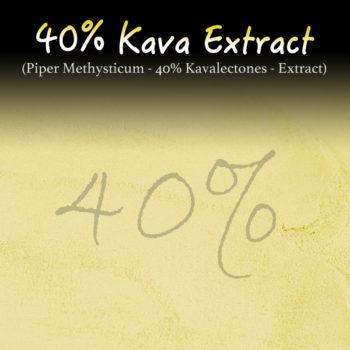 Kava Extract - 40% Kavalectones - Super Concentrated - Piper Methysticum - Instant Kava - Kratom Alternatives