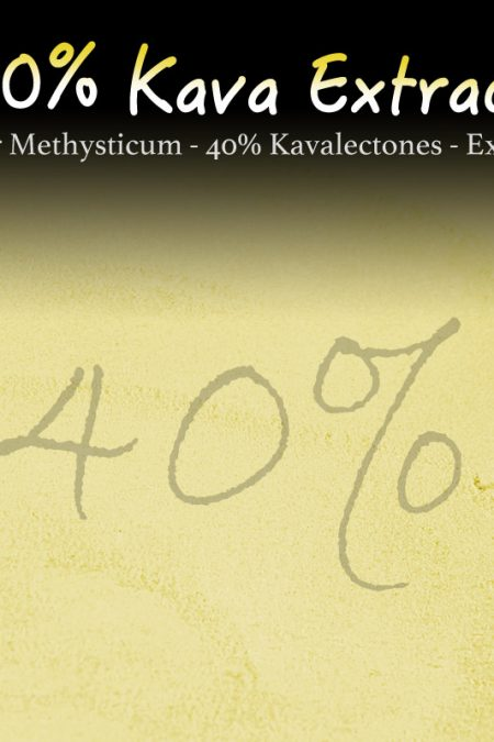 Kava Extract - 40% Kavalectones - Super Concentrated - Piper Methysticum - Instant Kava - Kratom Alternatives