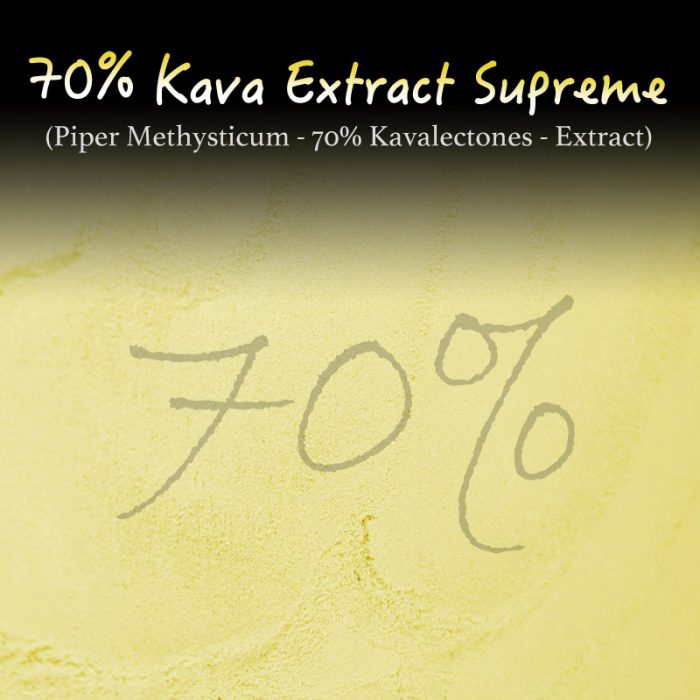 Kava Extract Supreme - 70% Kavalectones - Super Concentrated - Piper Methysticum - Instant Kava - Kratom Substitutes