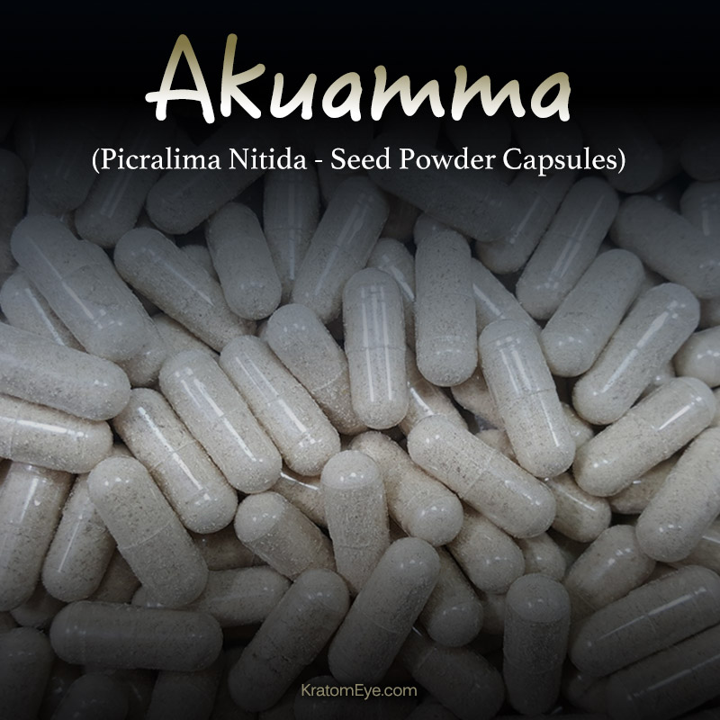 Akuamma (Picralima Nitida) Seed Powder Kratom Alternatives