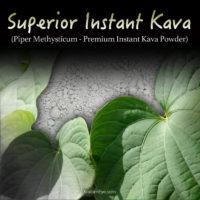 Superior Instant Kava (Piper Methysticum) - Premium Grade - Quick Dissolve Kava - Kratom Substitutes