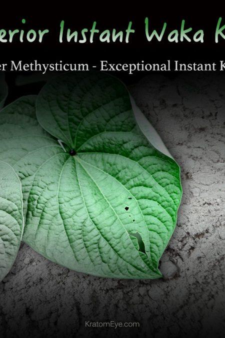 Superior Instant Waka Kava Extract Powder - Vanuatu Kava - Piper Methysticum - Kratom Substitutes