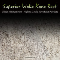 Superior Waka Kava Root Powder From Vanuatu - Highest Quality Piper Methysticum - Kratom Alternatives
