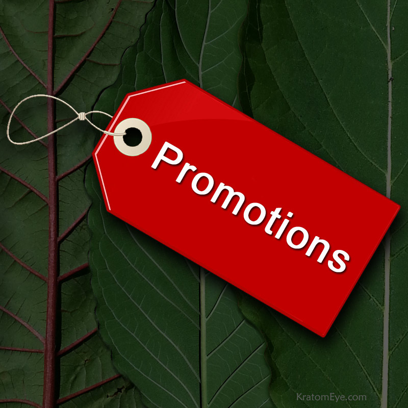 Kratom Promotions & Discounts