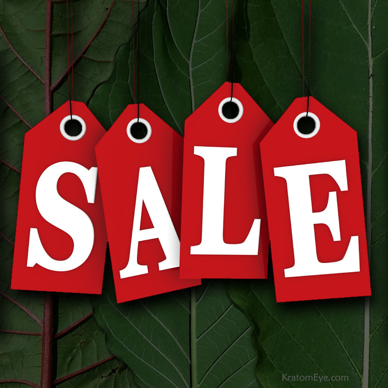 Kratom Discounts, Sales, Lowered Prices