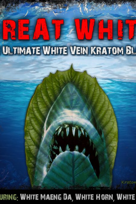 GREAT White: The Ultimate White Vein Kratom Blend (feat. White Maeng Da, Horn, Thai)