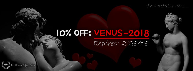 10% OFF Valentine's Day Code: VENUS-2018