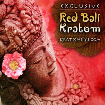 Exclusive Red Vein Bali Kratom, Superior Powder