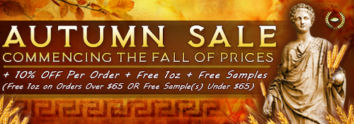 BIG Autumn Kratom Sale! Fall Prices + 10% OFF + Free Kratom for Every Order