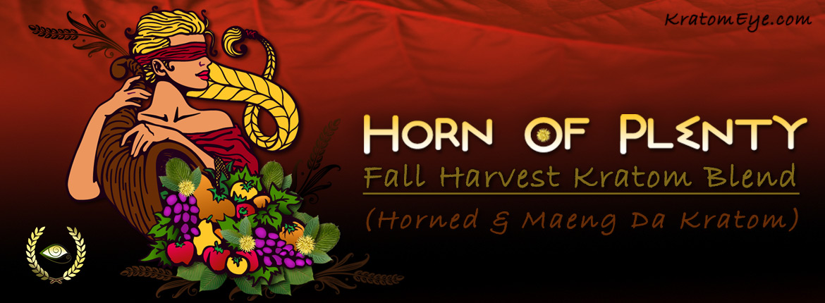 Horn of Plenty - Fall Harvest Kratom Blend (Horned & Maeng Da)
