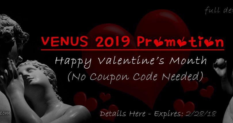 VENUS 2019 Valentine's Day Kratom Promotion