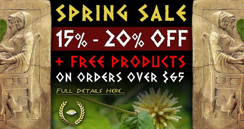 Spring Sale: 15% to 20% Discount on Sale Products + Free Products on Orders over $65
