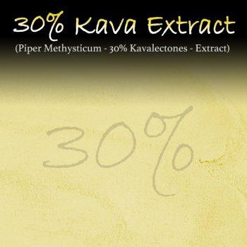 Kava Extract - 30% Kavalectones - Super Concentrated - Piper Methysticum - Instant Kava - Kratom Alternatives