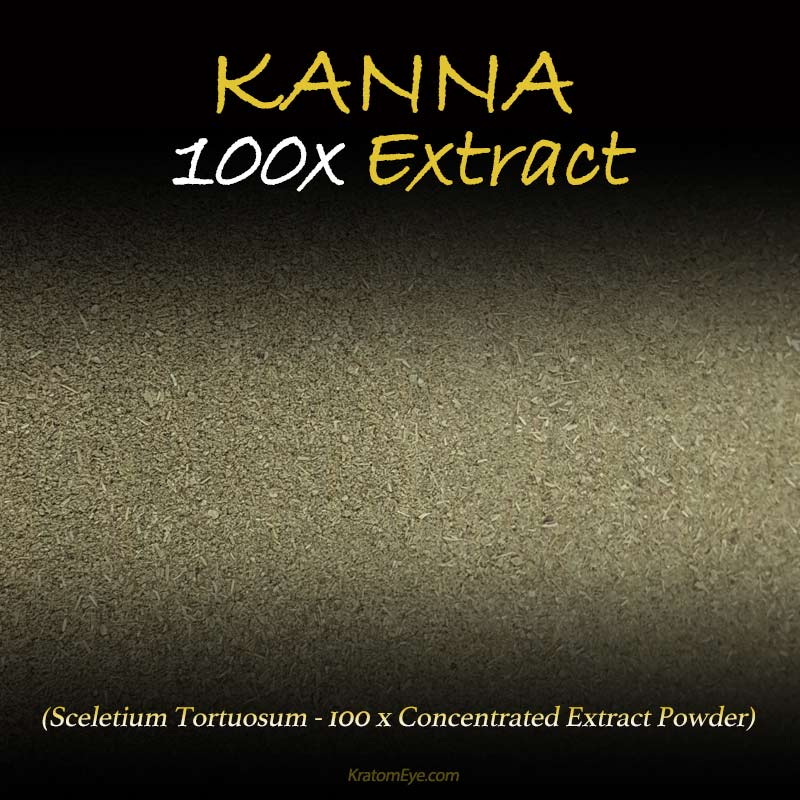 Kanna 100x Extract - Highly Concentrated - Sceletium Tortuosum - Highest Grade Natural Extraction Powder