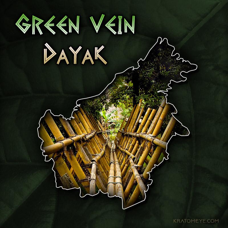 Green Vein Dayak Kratom, Borneo Rare, Special Strain