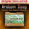 EXTREMELY Exfoliating, Moisturizing, All-Natural Kratom Soap with Palo Santo, Citrus, Bergamot Essences & Natural Oils