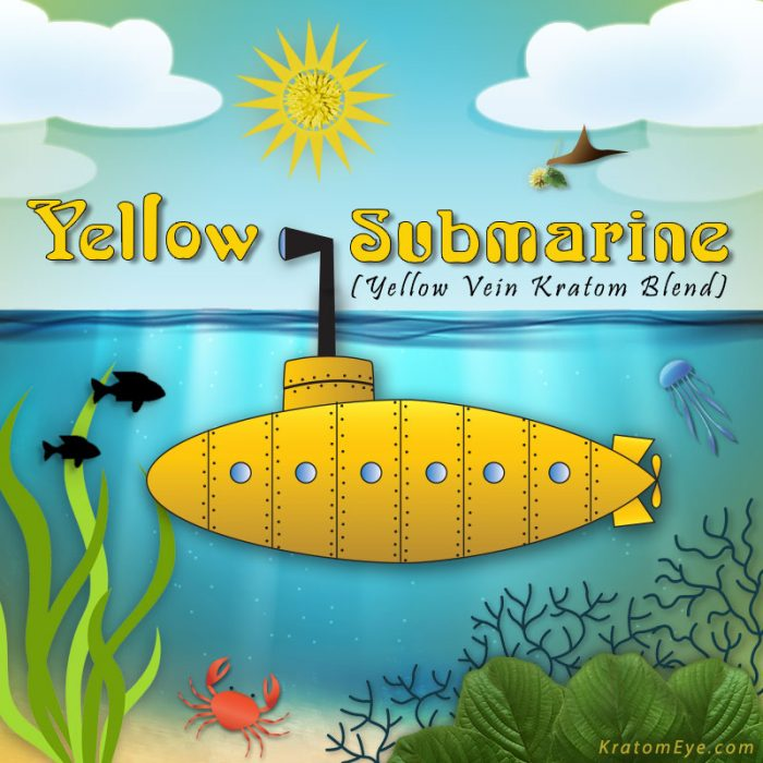 Yellow Submarine: Yellow Vein Kratom Blend