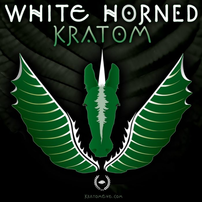 White Horned Kratom - Highest Thai Maeng Da Grade!