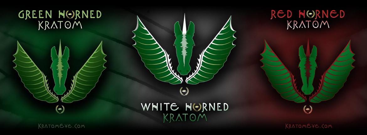 Best - Finest - White, Green & Red Horned Kratom
