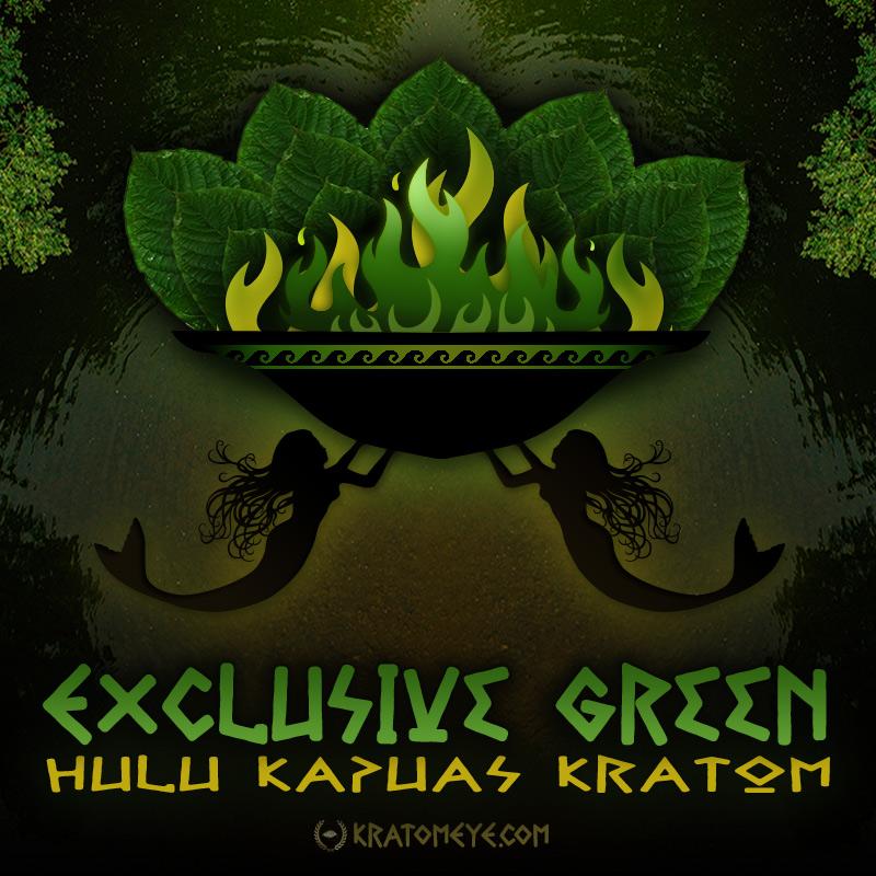 Exclusive Green Vein Hulu Kapuas Kratom