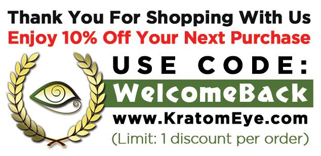 10% OFF Kratom Coupon Code
