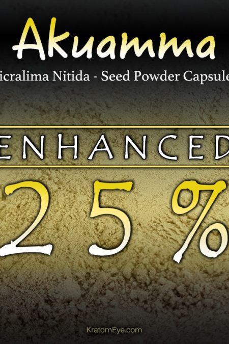 Akuamma 25% Enriched Powder Extract - Picralima Nitida Seed