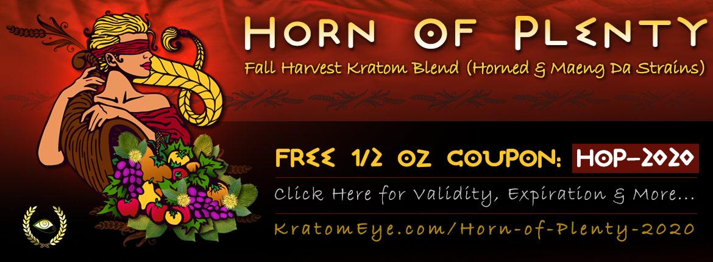 Horn of Plenty Free 1/2 oz Coupon
