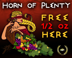 Horn of Plenty Free 1/2 oz Coupon