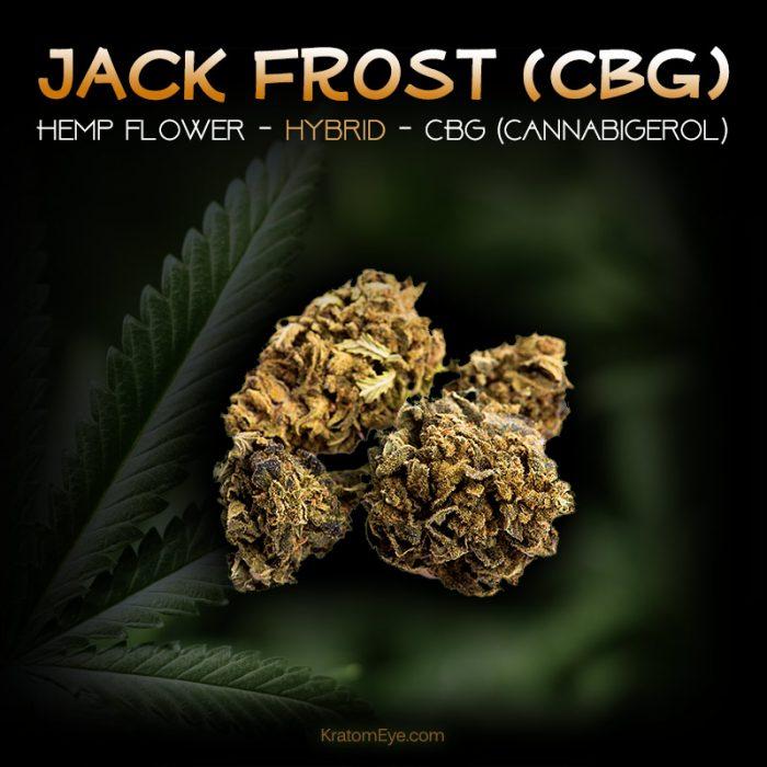 JACK FROST CBG Hybrid Hemp Flower