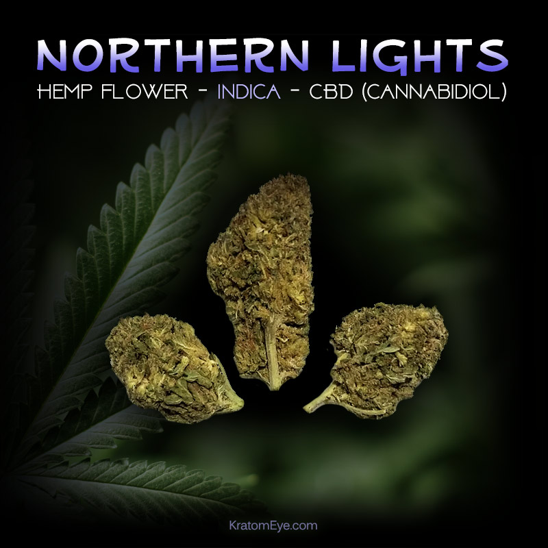 NORTHERN LIGHTS CBD Indica Hemp Flower