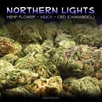 NORTHERN LIGHTS CBD Indica Hemp Flower