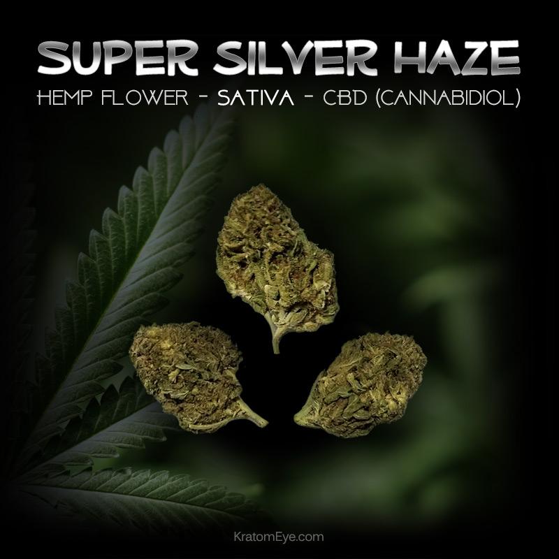 SUPER SILVER HAZE CBD Sativa Hemp Flower