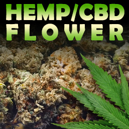 CBD Hemp Flower - Sativa, Indica & Hybrid Strains
